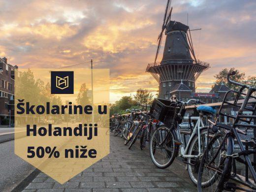 Školarine u Holandiji do 50% manje za EU studente Via Academica