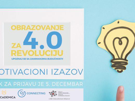 motivacioni izazov - obrazovanje za revoluciju - via academica