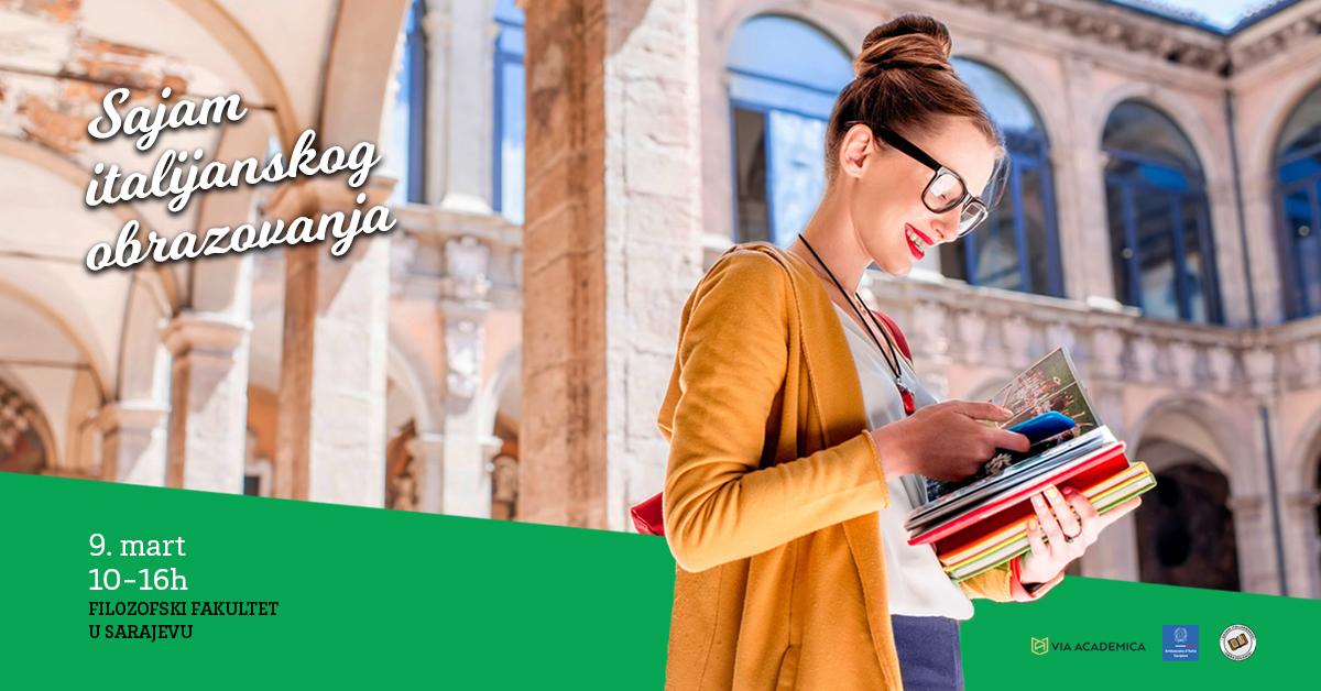 Sajam italijanskog obrazovanja Sarajevo Via Academica 2019