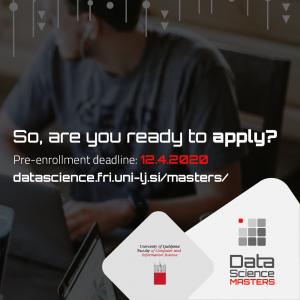 master data science slovenija