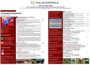 CV form template
