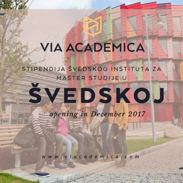 stipendija švedska via academica studije u inostranstvu