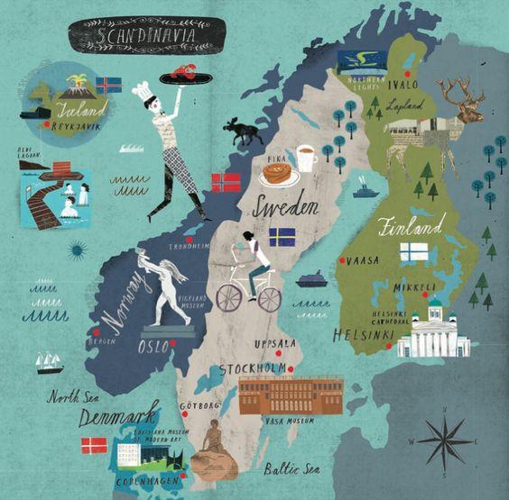 sweden via academica