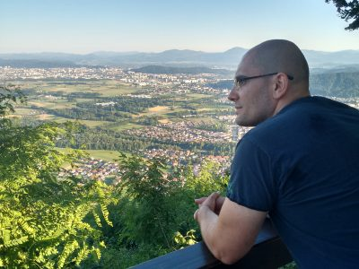 Pogled na Ljubljanu sa Šmarne gore Marijan Bajić Studije u Sloveniji Via Academica