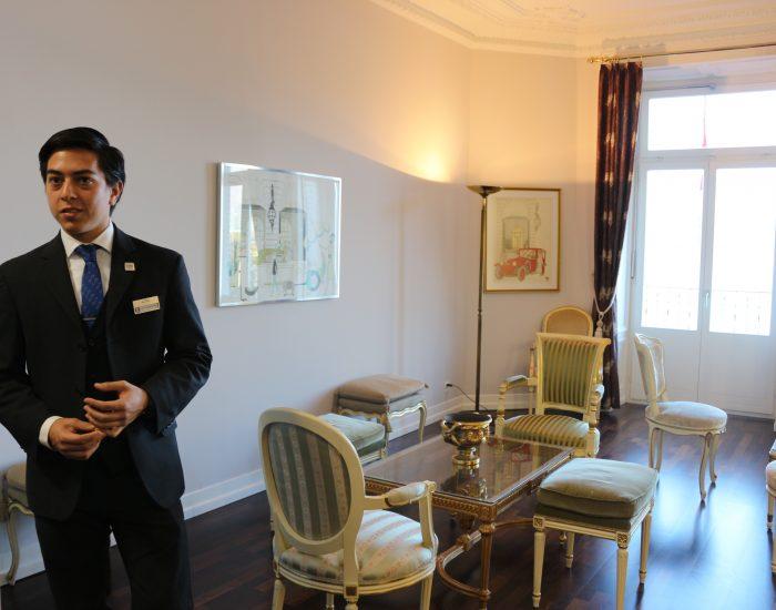 Cesar Ritz Hotel Ritz Paris Via Academica