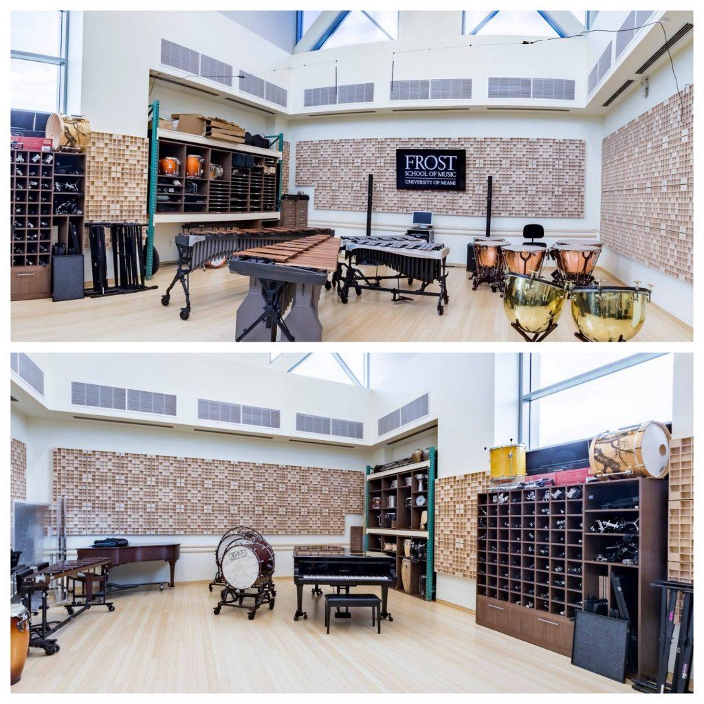 Percussion Studio University of Miami