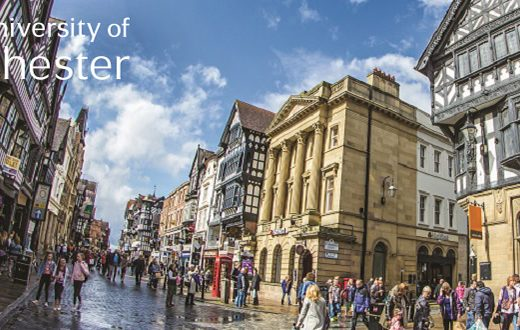 university of chester via academica studije u Velikoj Britaniji 2018/2019