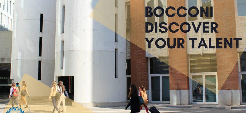 Bocconi Discover Your Talent rani upis osnovnih studija Via Academica studije i stipendije u inostranstvu