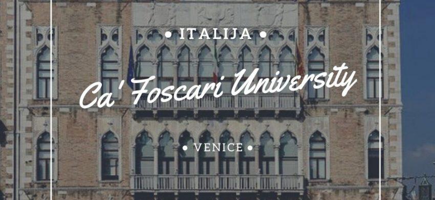 studije i stipendije u italiji studije menadžmenta italija studije u veneciji