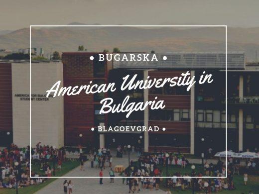 američka diploma studije stipendije bugarska American University in Bulgaria