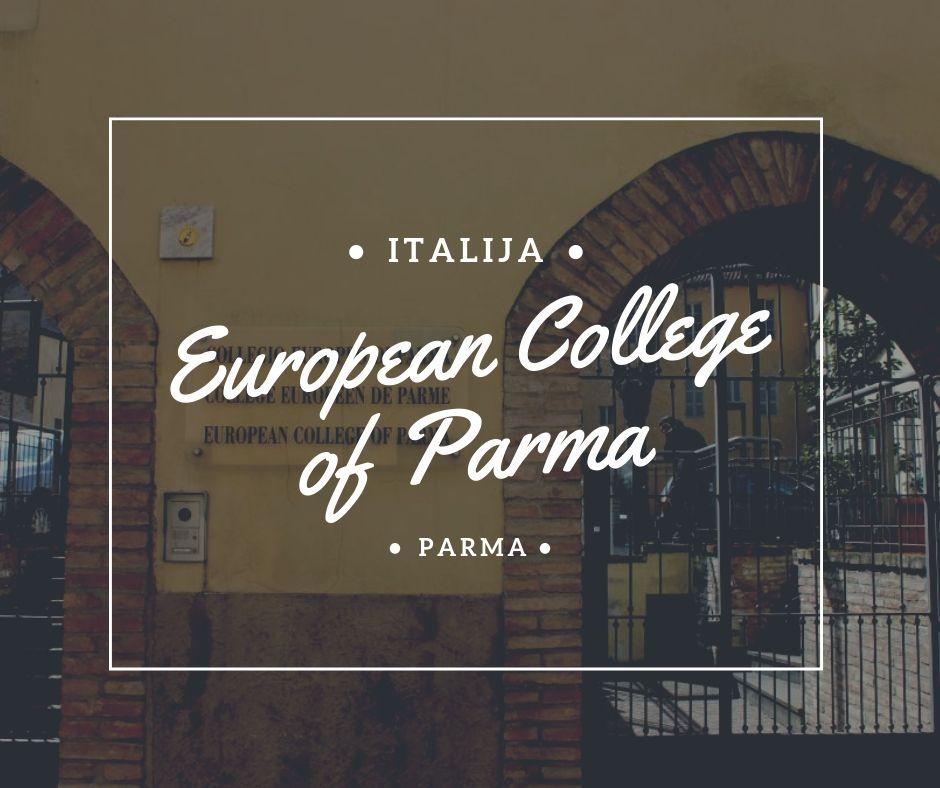 master studije stipendije italija parma evropski koledž