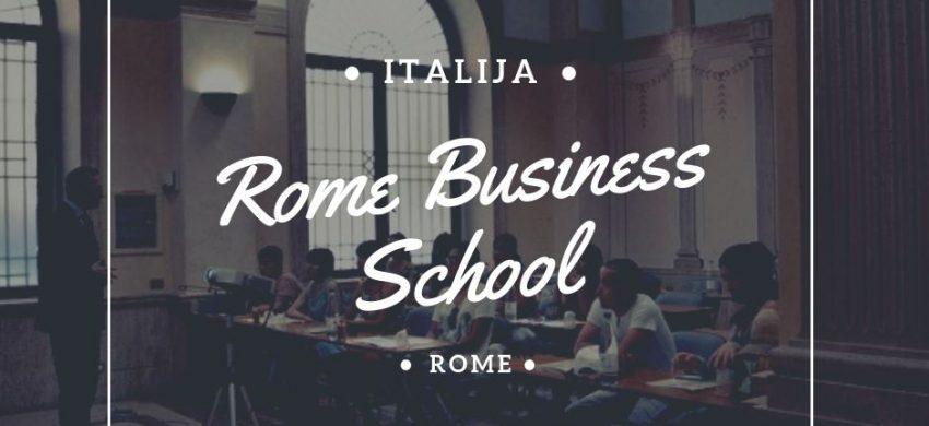 MBA studije u Italiji studije u Rimu