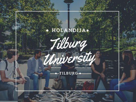 Tilburg Holandija University studije u Holandiji stipendije