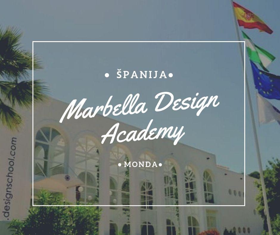 marbella design academy studije u španiji na engleskom stipendije za studije