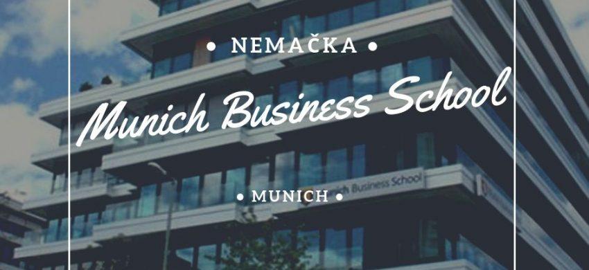studije i stipendije u nemačkoj mihnen Munich Business School