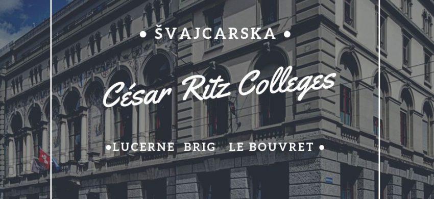 studije i stipendije švajcarska kulinarstvo preduzetništvo biznis via academica César Ritz Colleges
