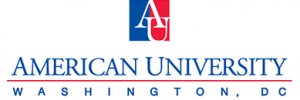 American Uni Washington Via logo