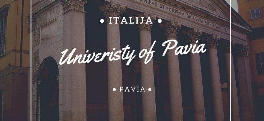 University of Pavia studije i stipendije u Italiji Via Academica