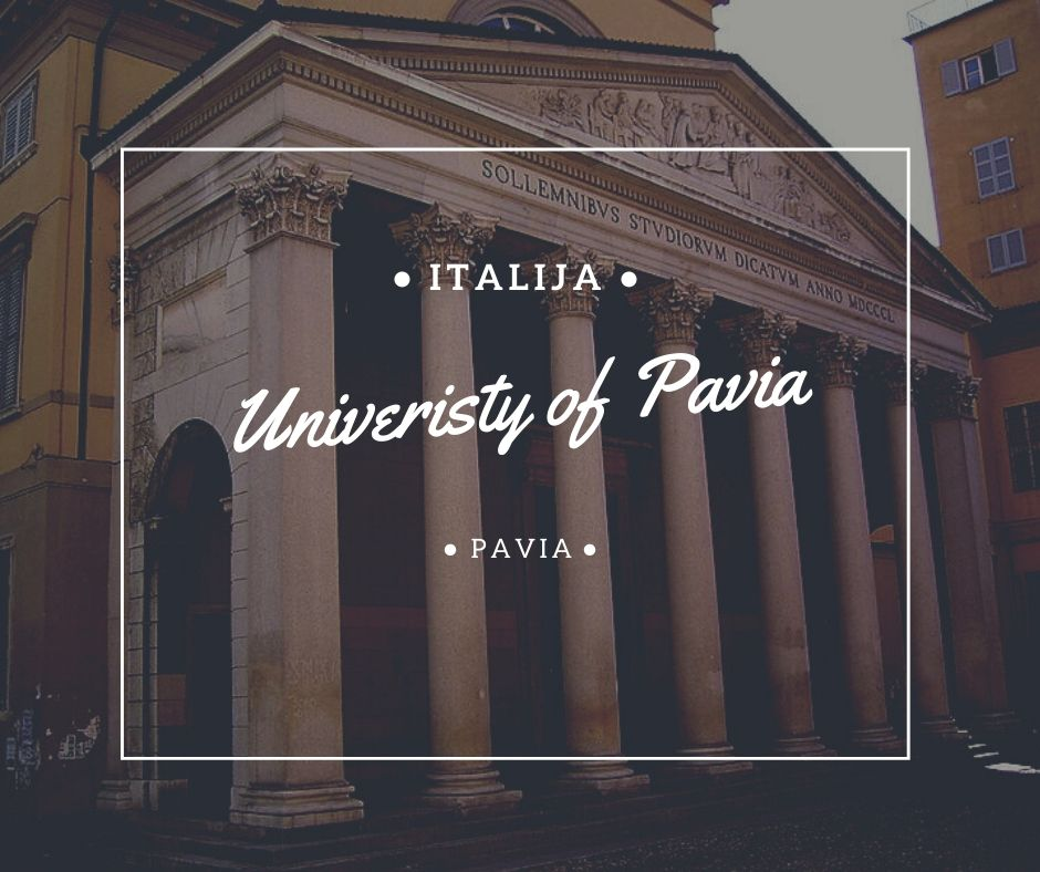 University of Pavia studije i stipendije u Italiji Via Academica