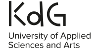 KdG University of Applied Sciences and Arts logo via academica