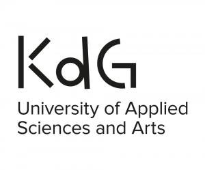 KdG University of Applied Sciences and Arts logo via academica