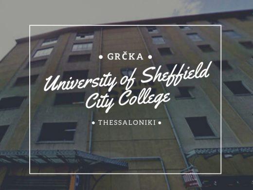 University of Sheffield Via Academica studije i stipendjie u grčkoj studije u solunu