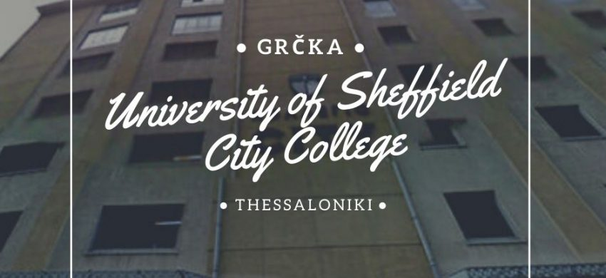 University of Sheffield Via Academica studije i stipendjie u grčkoj studije u solunu
