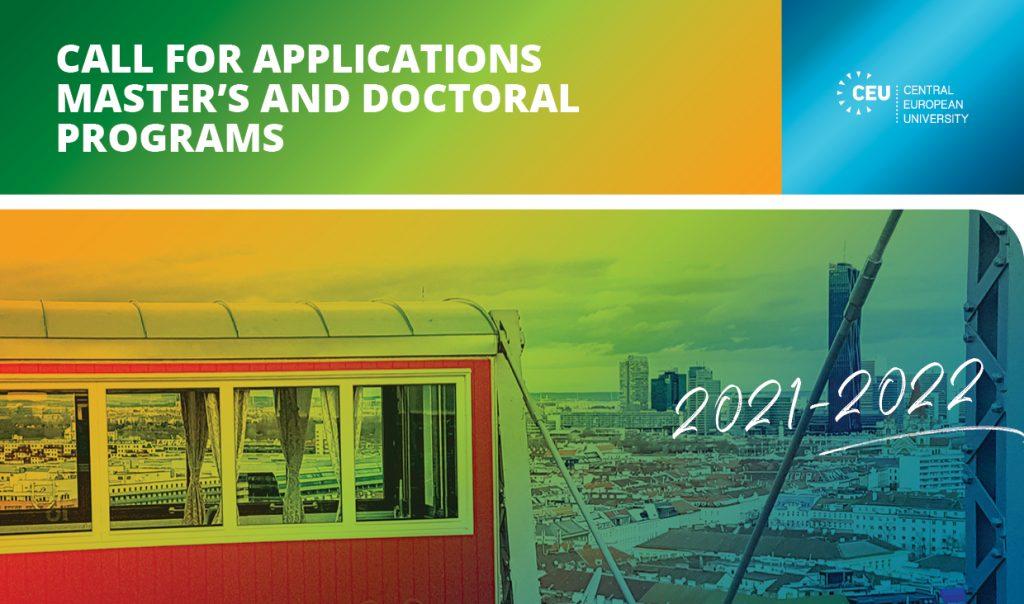 Prijavi se za osnovne, master i doktorske studije na Centralnoevropskom univerzitetu
