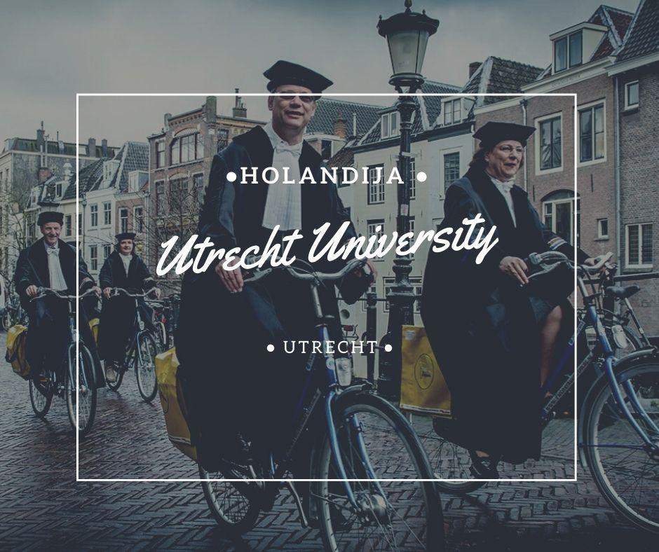 Utrecht University Holandija Via Academica