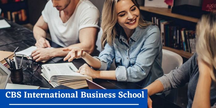 CBS International Business School Via Academica Study in Germany