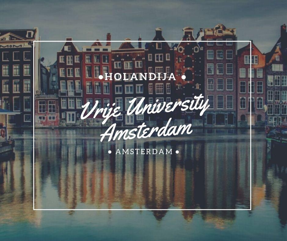 Vrije Universiteit Amsterdam Via Academica Study Abroad 2021