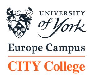 city college university of york logo