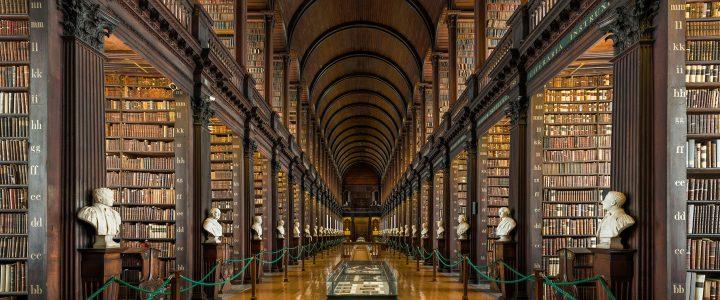 Trinity College Dublin library Via Academica