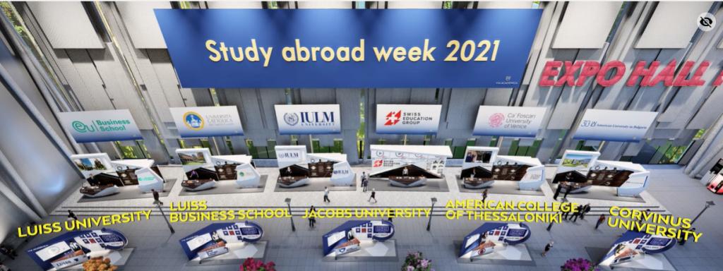 expo hall study expo 2021